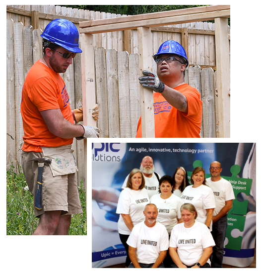 UPIC Solutions Team United Way Workers